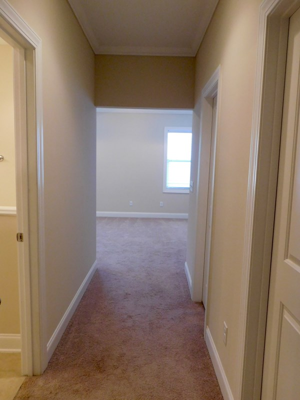 Hallway leading to Master Suite