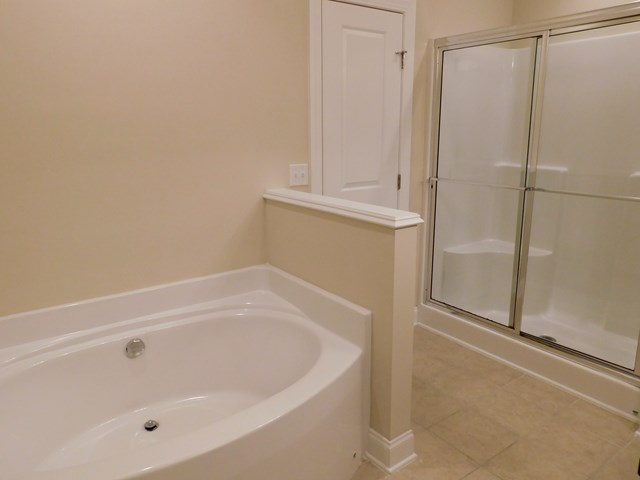 Master Soaker Tub Separate Shower