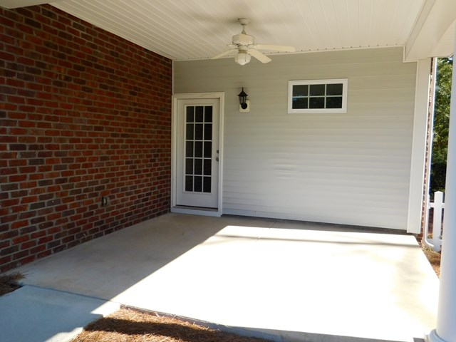 Covered Rear Porch/Patio